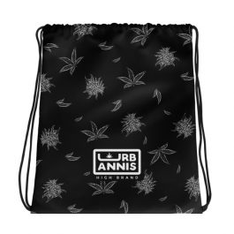 Cannabis Drawstring Bag