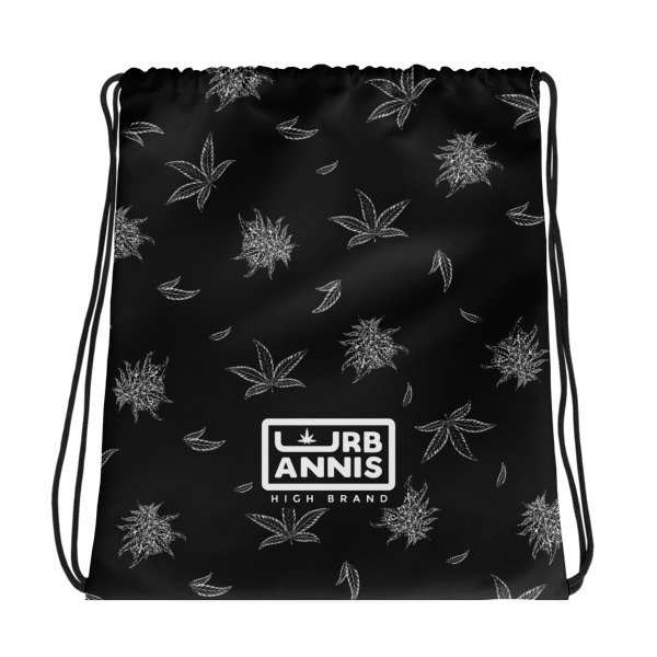 Cannabis Drawstring Bag ,Kosher_Kush,Drawstring_Bag,urabnnis,streetwear,street,fashion_bag