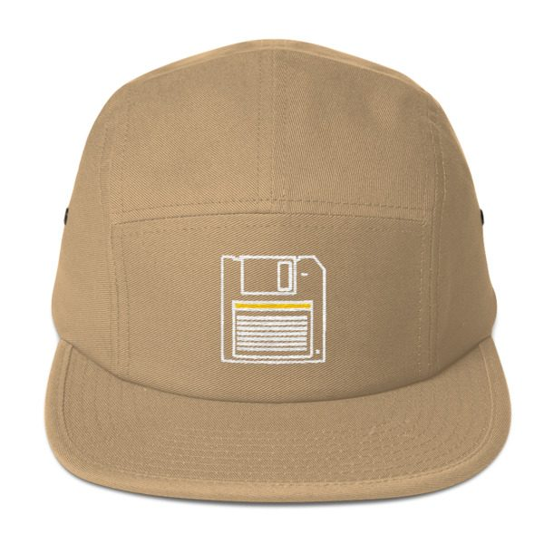 31087ce7c 80s' Floppy disk 5 Panel Cap