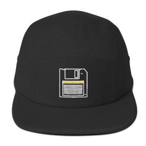 80s' Floppy disk 5 Panel Cap