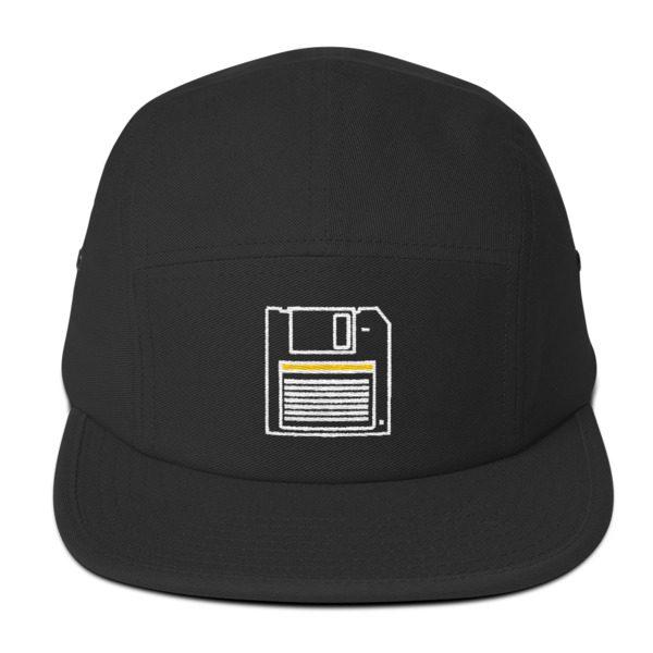 80s  Floppy disk 5 Panel Cap  4a082a824e0