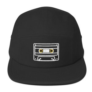 80s' Audio Cassette Hat