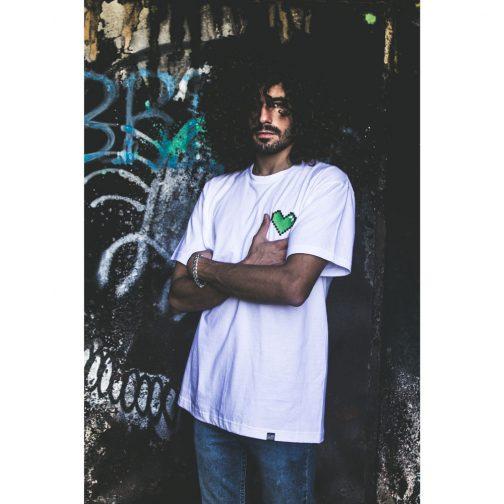 HeartT-shirt, Embroidered T-shirts, T-Shirt,