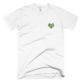 Embroidered Heart T-Shirt