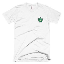 Cannabis Leaf Pixel T-Shirt