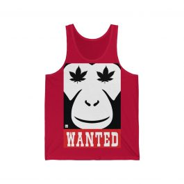 420 Wanted Monkey | DOPE Tank top