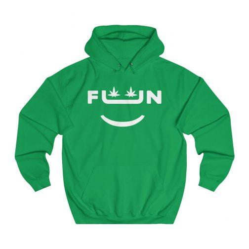 Fun Hoodie, 420 Hoodie, Stoner Hoodie, Stoner Clothing, 420 Clothing, Cannabis apparel, weed apparel, Indica hoodie, Sativa hoodie, Marijuana hoodie, Stoner, Hoodie, Hoodies & Sweatshirts