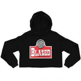 Blazed Crop Hoodie