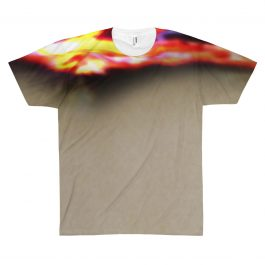 Oversized Flame T-shirt