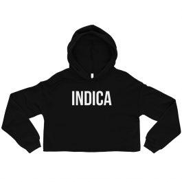 Indica Crop Hoodie