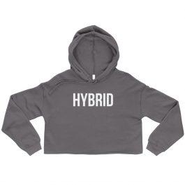 Hybrid Crop Hoodie