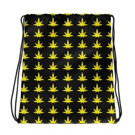 Stoner Smile Drawstring bag