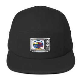 Retro TV 5 Panel Cap