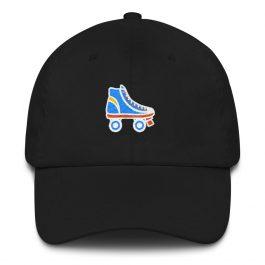 Rollerskates Dad hat