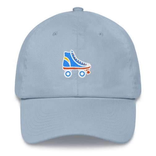 Rollerskates Dad hat, Accessories, hats&caps &baseball & Trucker caps,baseball hats,dad caps, dad hats, baseball caps, 6 panel, trucker hats, hats and caps, embroidered hats, Tumblr hats,