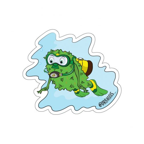 diving bud sticker, Dope Stickers, Sticker Pack, Cannabis Sticker, Mary Jane Sticker, Weed Sticker, Marijuana Sticker, Dope, Weed Stuff, Funny Stickers, Vinyl Decal, Marijuana, Hipster Gift, Car Decal, 420 Laptop Sticker, 420 Skate Sticker