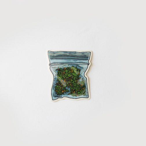 WEED Stuff, WEED Pin, Enamel cannabis pin, 420 pin, urbannis