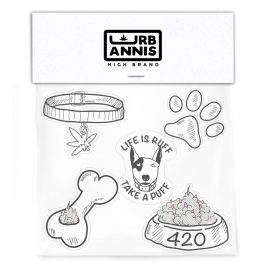 420 Dog Life Sticker Pack