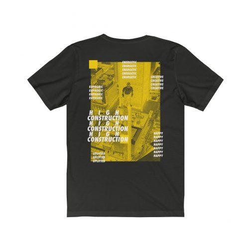 High Construction T-shirt, Hypebeast t-shirt, supreme t-shirt, streetwear style, street wear t-shirt, streetwear tel aviv, sativa clothing, cannabis t-shirt, kush t-shirt, marijuana t-shirt, pot t-shirt, Hypebeast t-shirt, supreme t-shirt, streetwear style, street wear t-shirt, streetwear tel aviv