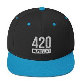 420 Represent Snapback